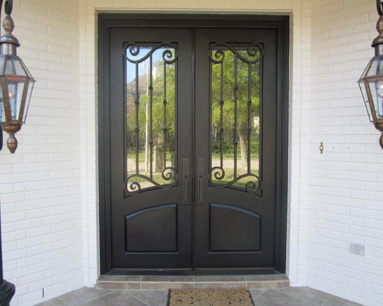 Wrought Iron Entry Doors New Orleans Mandeville