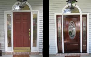 worn doors