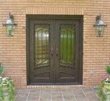 iron doors - The Classic Look of Iron Front Doors