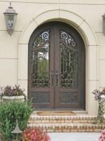 wrought iron doors - The Classic Look of Iron Front Doors