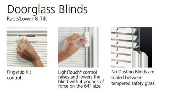 blinds2 - Experience Beauty and Durability with the Infinity Fiberglass Door Collection