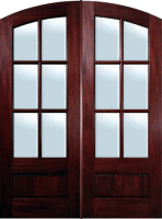 refinished wood door - Wood Door Finishes: So Many Doors to Choose From