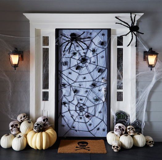 Fun & Spooky Halloween Decorations For Your Front Door